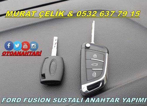 ford fusion sustalı anahtar yapımı