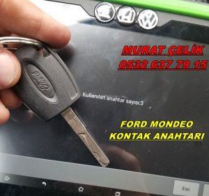 ford mondeo kontak anahtar