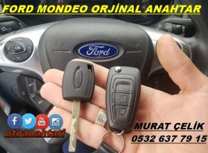 ford mondeo orjinal anahtar