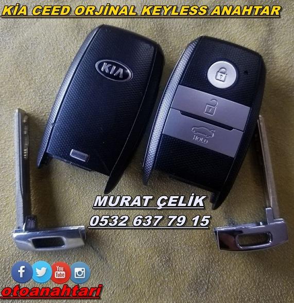 Kia Ceed keyless go anahtar