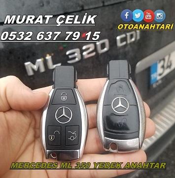 Mercedes ml 350 anahtar yapımı