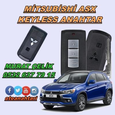 mitsubishi asx keyless anahtar