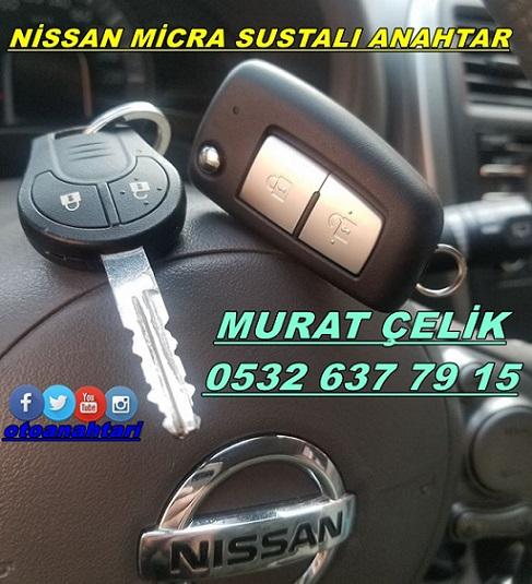 Nissan Micra için sustalı anahtarlık