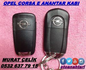 opel corsa e anahtar kasası