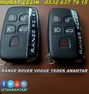 range rover vogue 2015 anahtarı