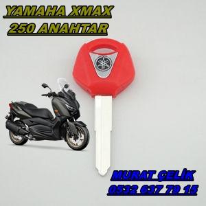 yamaha xmax kırmızı anahtar
