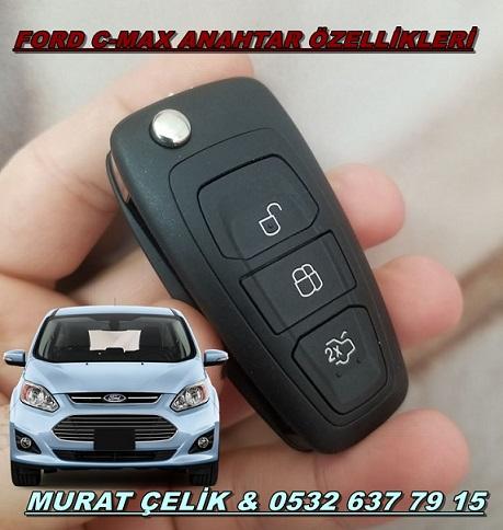 Ford C Max Anahtar Fiyati Oto Anahtari Immobilizer Anahtar