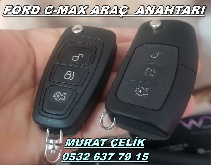ford c-max araç anahtarı