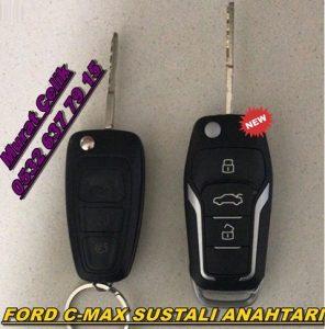 ford c-max sustalı anahtar