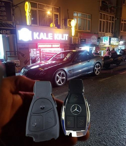 Mercedes sl 350 yedek kopyalama
