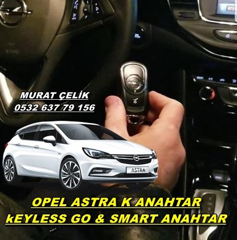 Opel astra k orjinal anahtar