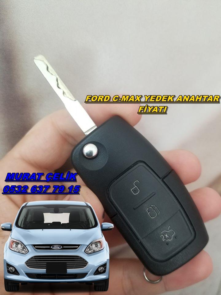 Ford C-max yedek anahtar fiyatı
