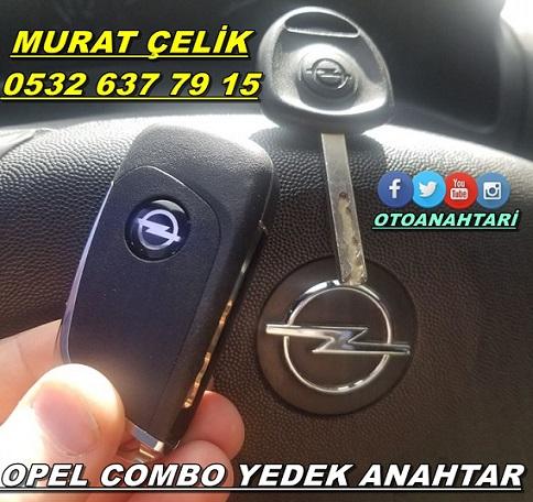 Opel Combo araç anahtarı