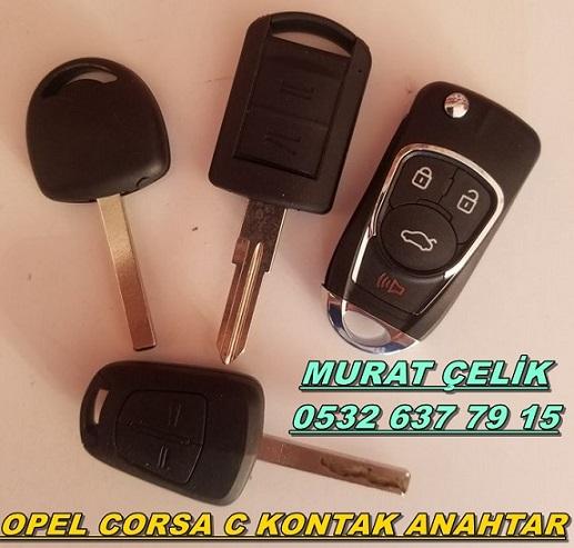 opel corsa c kontak anahtarı