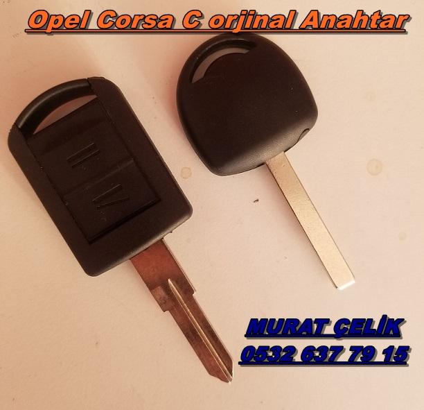 Opel Corsa c orjinal anahtar