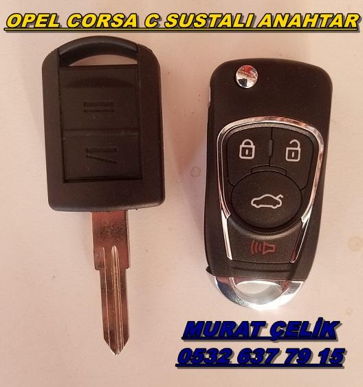 Opel Corsa C sustalı anahtar