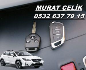 Subaru Xv yedek anahtar