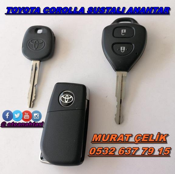 Toyota Corolla için sustalı anahtarlık