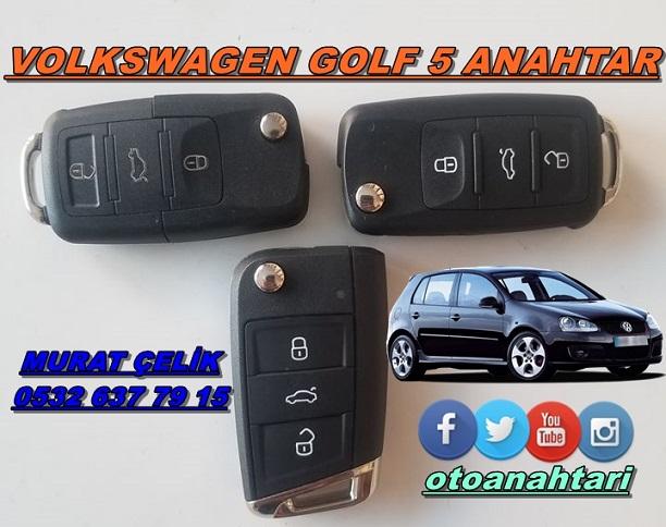 Volkswagen golf 5 anahtar yapımı