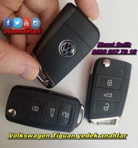 Volkswagen tiguan yedek anahtar kopyalama