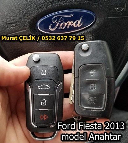 2013 Model Ford Fiesta Anahtar
