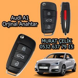 Audi a1 yedek anahtar yapımı