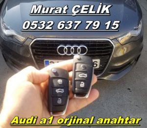 Audi a1 yedek anahtar kopyalama