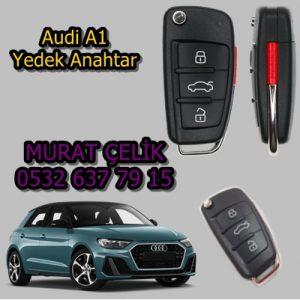 Audi a1 yedek anahtar fiyatı