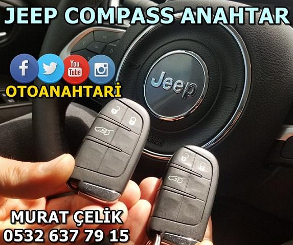 jeep compass yedek anahtar görseli