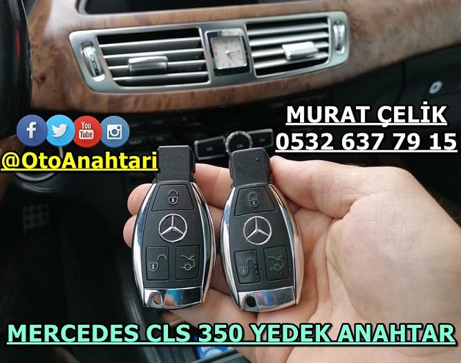 MERCEDES CLS 350 YEDEK ANAHTAR