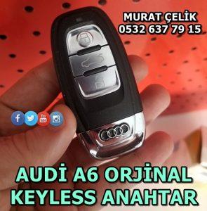 Audi a6 keyless anahtar fiyatı