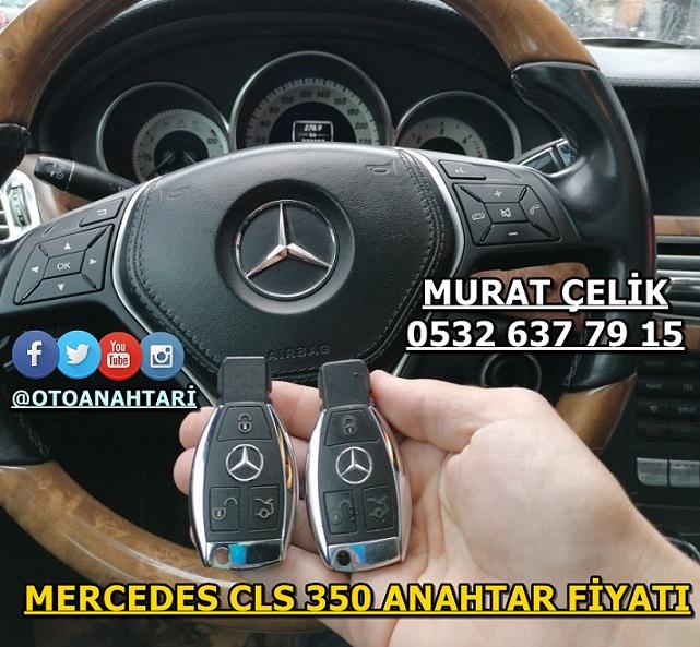 MERCEDES CLS 350 ANAHTAR FİYATI