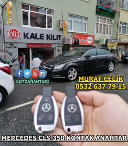Mercedes Cls 350 anahtar kopyalama