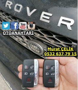 2012 model range rover sport yedek anahtar