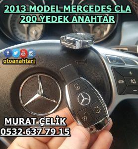 2013 model mercedes cla 200 anahtar