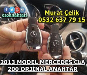 2013 model mercedes cla 200 anahtar fiyatı