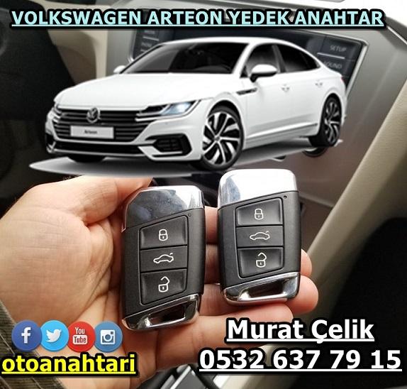 Volkswagen Arteon Yedek Anahtar