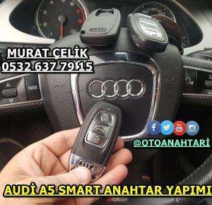 Audi a5 smart anahtar