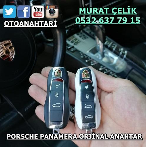 Porsche Panamera Anahtar yapımı