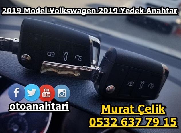 Volkswagen golf 7.5 2019 model yedek anahtar