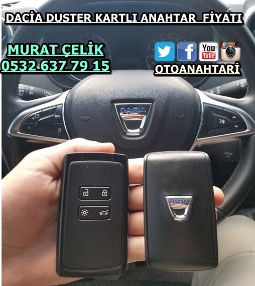 Dacia Duster kart anahtar fiyatı