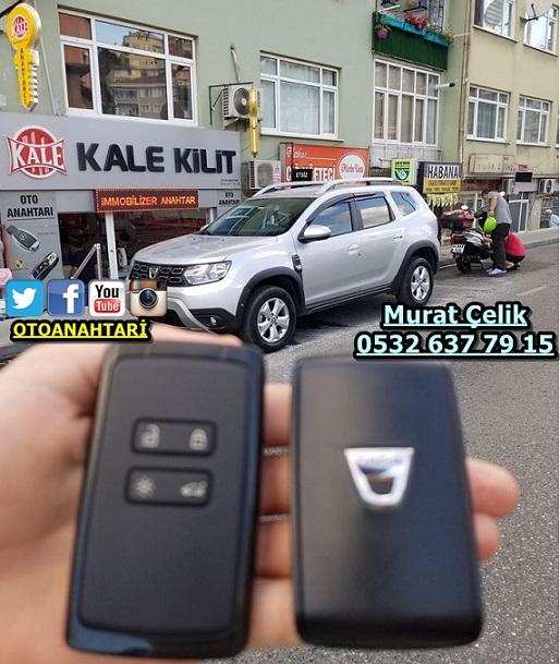 Dacia Duster orjinal kartlı anahtar
