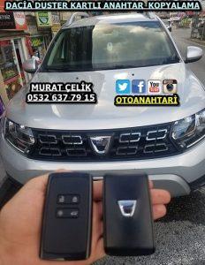 Yeni Dacia Duster yedek kart anahtar