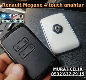 Renault megane 4 touch kartlı anahtar