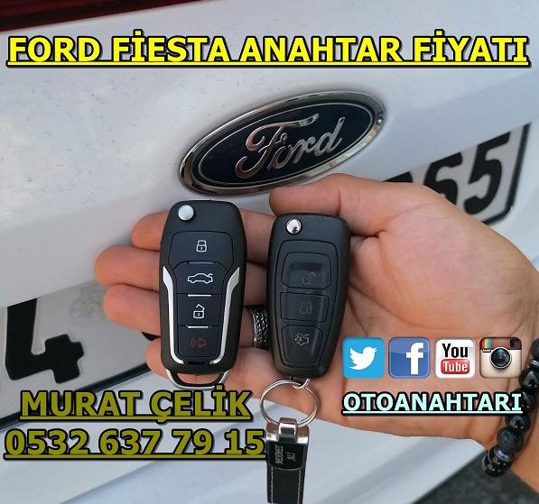 Ford fiesta modelinin anahtar fiyatı