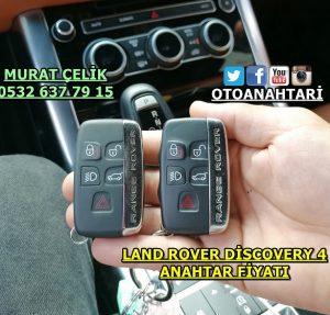 Land rover discovery 4 yedek anahtar fiyatı