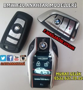 Bmw f10 anahtar modelleri