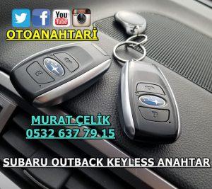 Subaru Outback keyless anahtar