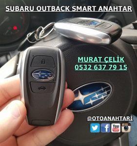 Subaru Outback smart yedek anahtar
