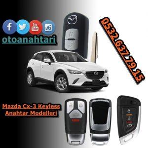 Mazda Cx-3 Smart Anahtar